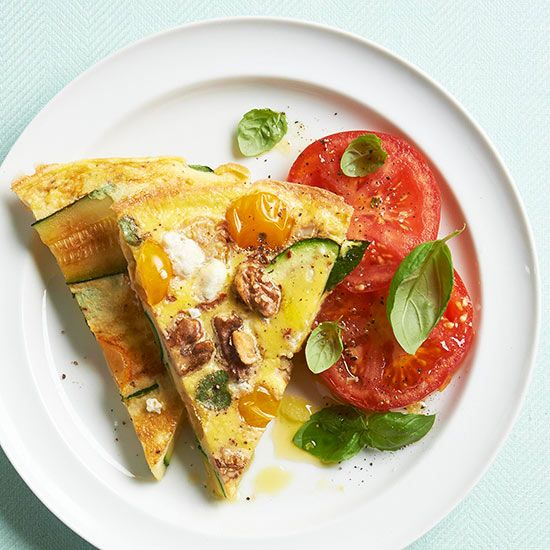 Instead of an omelet, try this easy frittata recipe for a new way to eat eggs in the morning.