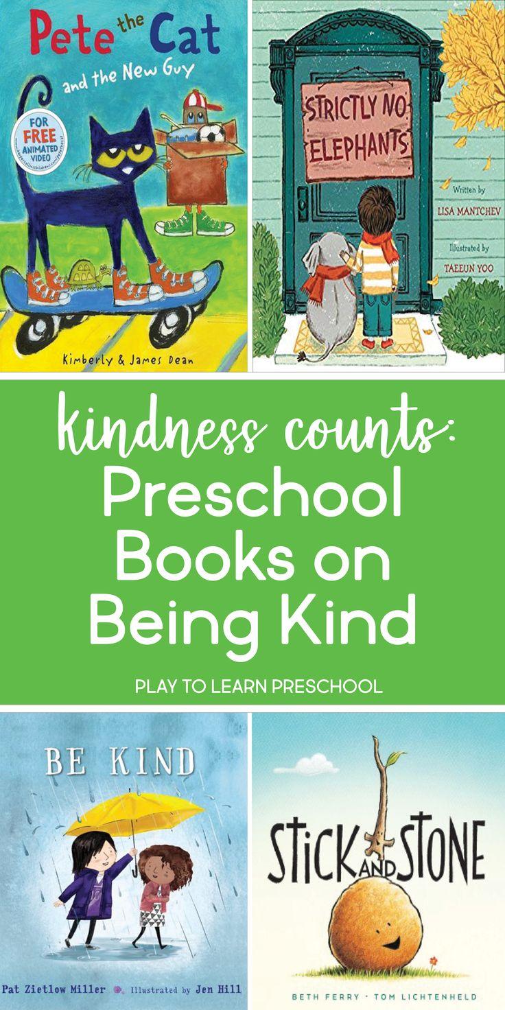 Kindness Counts – 6 Preschool Books on Being a Friend – Teaching