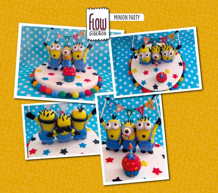 Deco torta The Minions!!