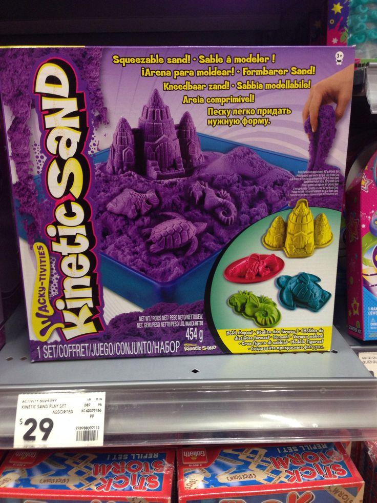 Kinetic sand Kmart $29