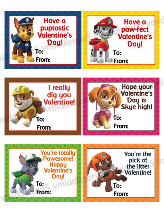 valentine's day birthday party favors
