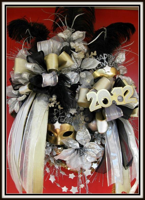 109 best Wreaths - New Years Wreath and Door Decor images ...