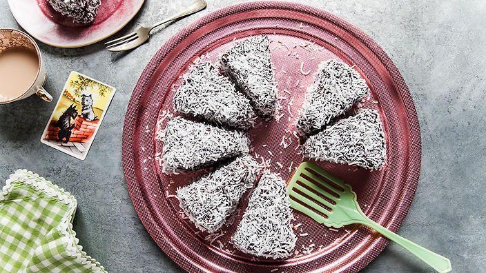 Orange lamington cake   Cake recipes   SBS Food   Poh & Co.