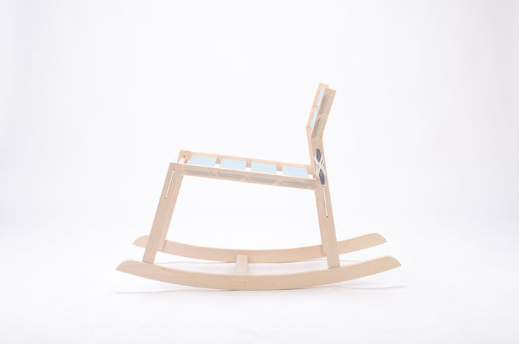 tom chung: cleat knockdown rocking chair