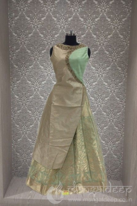 http://www.mangaldeep.co.in/lehengas/exquisite-beige-and-green-in-readymade-deisgner-partywear-indowestern-suit-8150 For more information :- Call us @ +919377222211 (Whatsapp Available)
