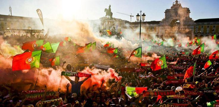 Do Marquês de Pombal a Newark, milhões de portugueses celebram - Fotogalerias - Jornal Record