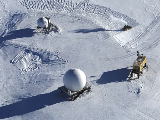 In the 1990s, scientists stationed at the South Pole in Antarctica were compl...
