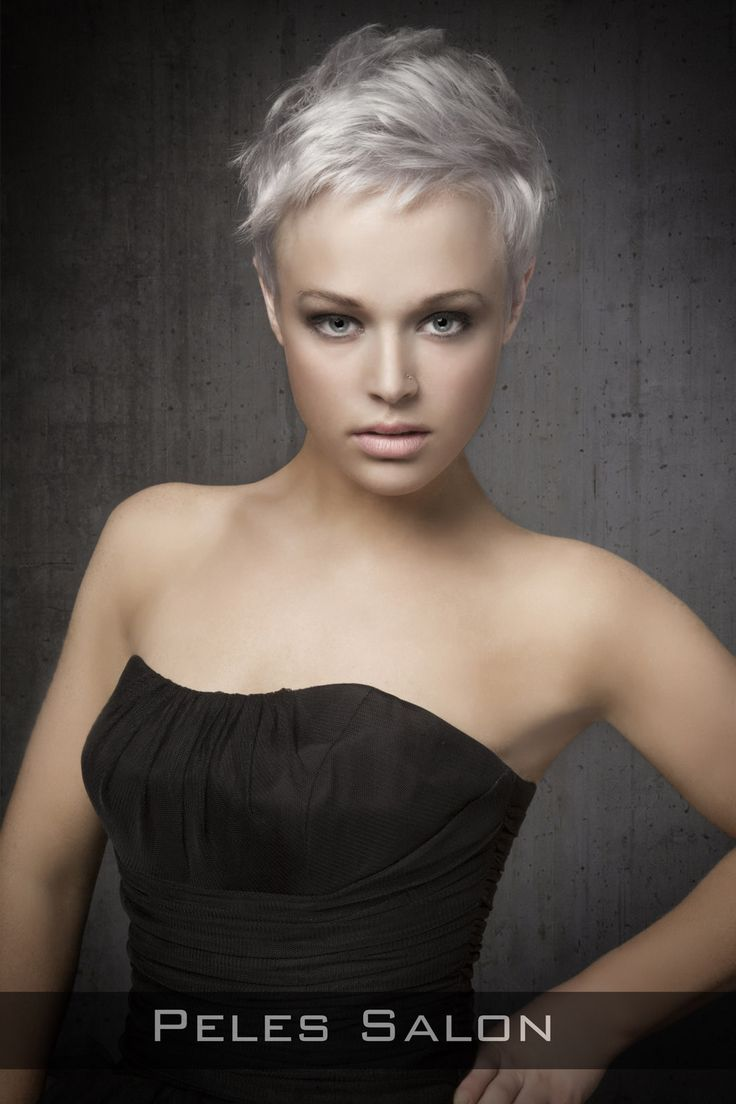 Many people with round face shapes tend to avoid short hairstyles ...