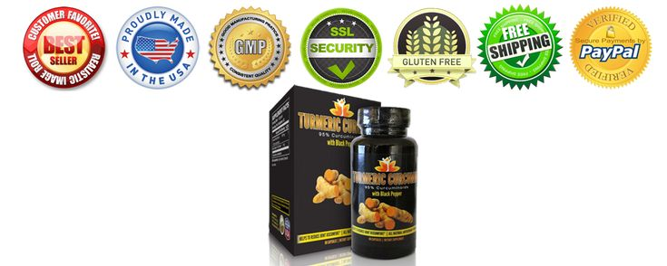 Premium Turmeric Curcumin with Black Pepper - 95% Curcuminoids (Extract), 2,000% Increased Bioavailability, 500mg/capsule.