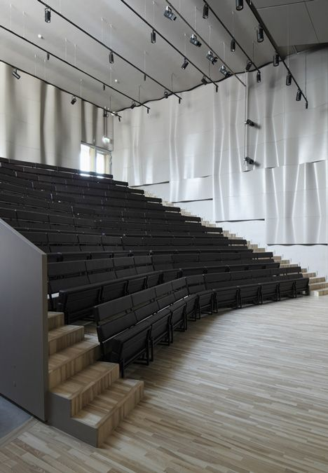 Saldus Music and Art school by Made Moulded Acoustic Walls