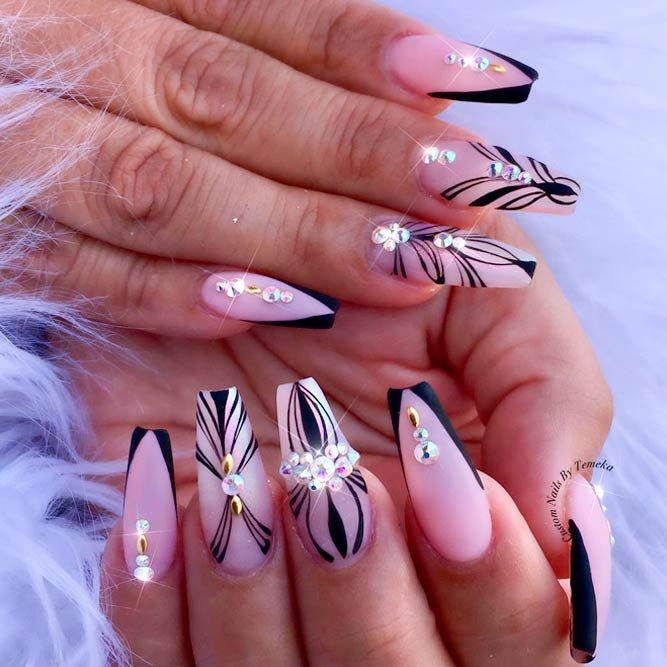 ballerina nails shape