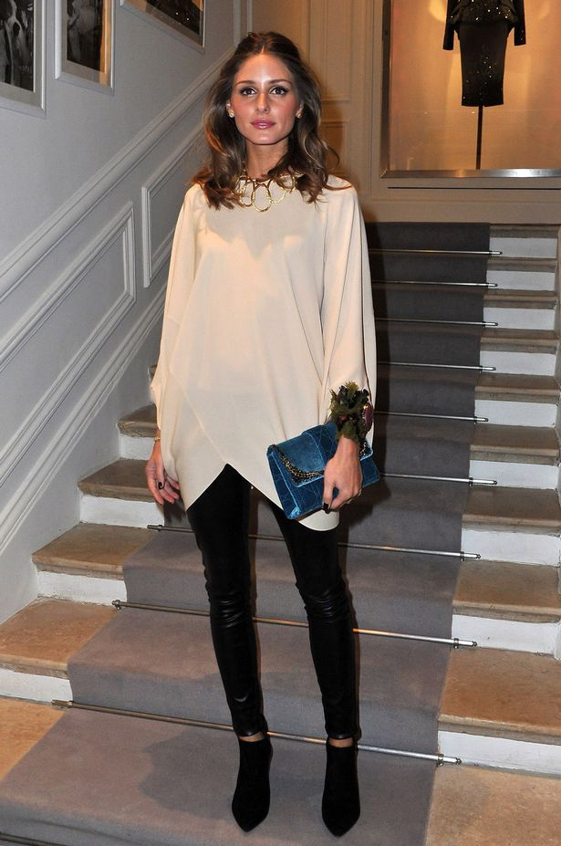 Olivia Palermo at the Dior Haute-Couture 2012 show during Paris Fashion