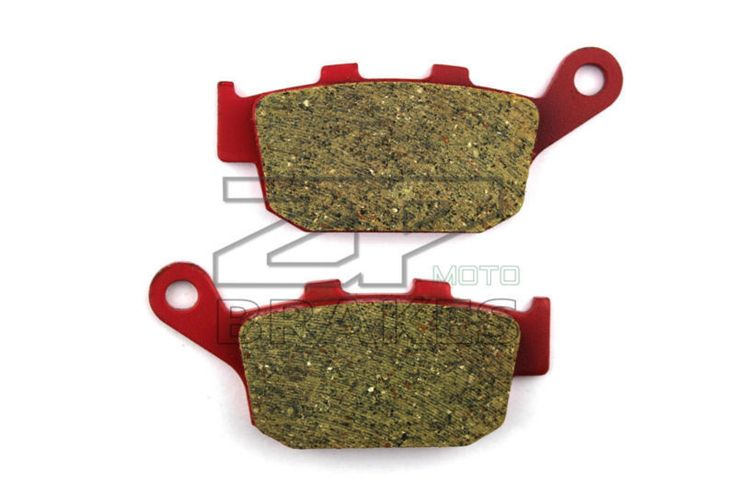 Motorcycle parts Brake Pads Fit SUZUKI GW 250 L4/L5 (Naked) 2014-2015 Rear OEM Red Ceramic Composite Free shipping #Affiliate