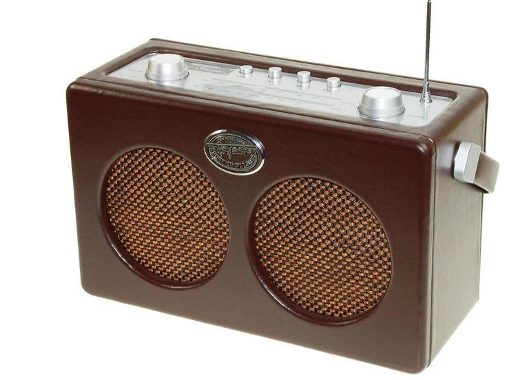Radio Retro Spirit clasica rectangular #tocadiscos #gramofonos #giradiscos #retro #antiguo #regalos #musica #vinilos #radios #sintonizador