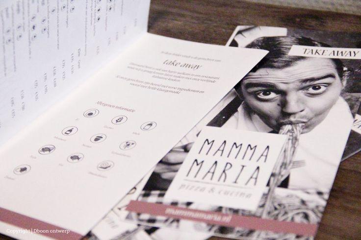 Home | Ontwerpbureau in het Westland - Dboon ontwerp pizzaria mamma maria take away menukaart identity grafisch vormgeven flyer