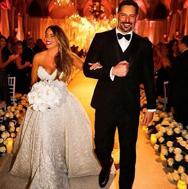 Sofia Vergara and Joe Manganiello Wedding Pictures 2015 | POPSUGAR Celebrity