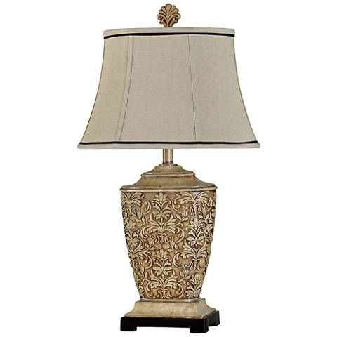 Ashford Tortola Cream Table Lamp