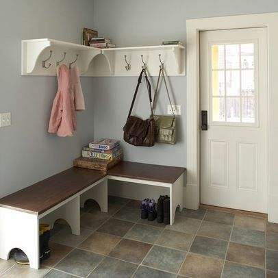 25 best ideas about corner bench on pinterest corner for Farmhouse mudroom ideas