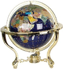 42 best gemstone world globes images on pinterest globes gems and gemstone world globes gumiabroncs Image collections
