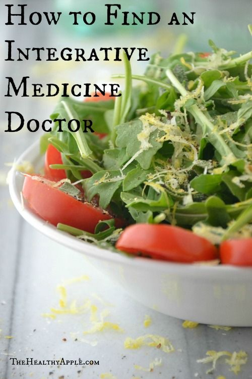 How To find An Integrative Medicine Doctor |  The Healthy Apple