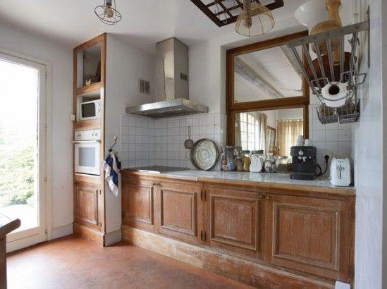 Relooker une cuisine rustique maison travaux cuisine - Relooker une cuisine rustique ...
