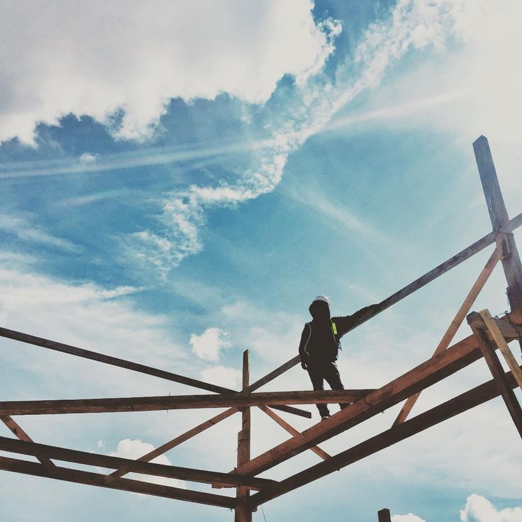 Pausa. #architecture #art #constructionworker #construction #morelia #love #arquitectura #mexico #blue #instamexico