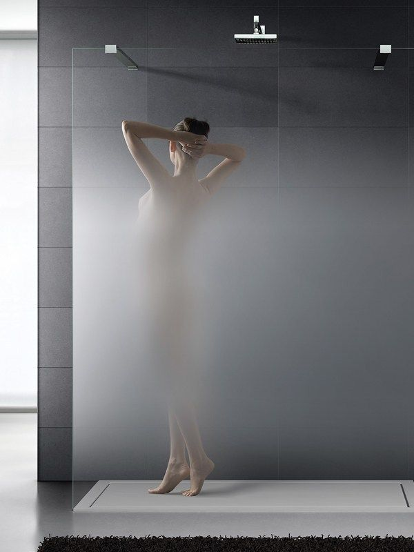 Crystal Shower wall panel MADRAS® NUVOLA - Vitrealspecchi
