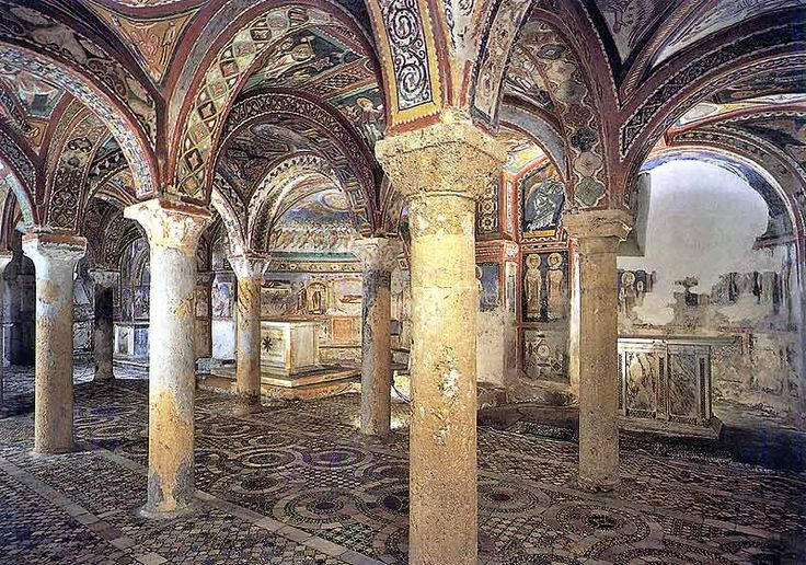 Crypt of Anagni Tour - Full Day Tour of Anagni, visits to Cathedral, Cathedral's Museums, Crypt, Horatory and Palace of Popes