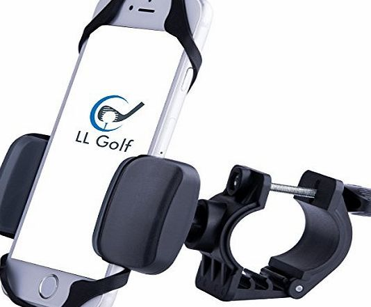 LL-Golf ® Universal Smartphone Holder for the Golf Trolley / GPS Holder / Phone Holder / suitable for all Sm Universal Smartphone Holder for the Golf Trolley, to use GPS Apps during the round.  Tiltable in 360 degrees thanks to the ball joint.  Quick and easy (Barcode EAN = 0718347105226) http://www.comparestoreprices.co.uk/december-2016-week-1-b/ll-golf-®-universal-smartphone-holder-for-the-golf-trolley--gps-holder--phone-holder--suitable-for-all-sm.asp