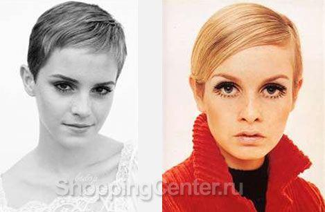 Стиль 60-х годов. Модная прическа в стиле 60-х. Фото