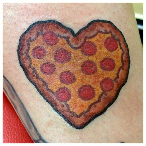 Sanchez - Hunter & Fox TattooFoxes Tattoo, Pizza Shops, Pizza Fans, 1St Lovepizza, Pizza Heart, Pizza Tattoo, Fox Tattoos, 1St Love Pizza, Food Drinks