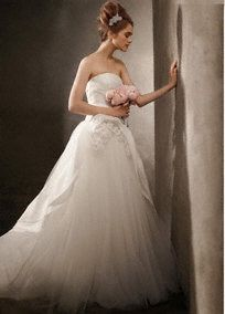 17 best images about bridal veils on pinterest strapless for How to clean your own wedding dress