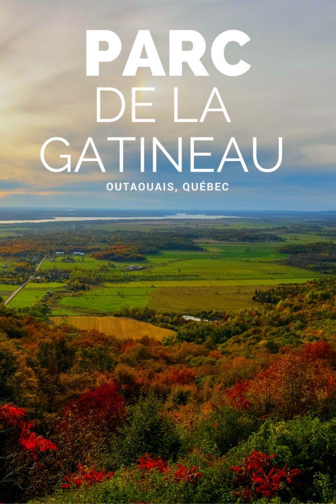 Découvrez le magnifique Parc de la Gatineau situé à quelques minutes à peine de la ville d'Ottawa! #Canada #Quebec #Voyage