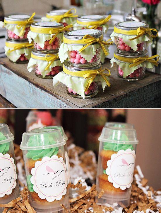 I Heart Pears: Spring Baby Shower Idea · Small Mason JarsSpring ...