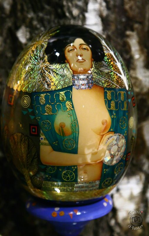 Gustav Klimt faberge tojás
