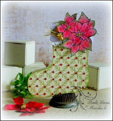 Lovely Linda's Craft Central!!: Flourishes LC Friday Blog Hop @Flourishes LC  #flourisheslc #fllc @imaginecrafts   @spellbinders @SBAdhesivesby3L   #paperart #diy #handmade #paperart #card #craft #embossing # winterblooms #beverlycole #embossing #sponging #diecutting #septembernewrelease #newrelease #lovelylinda #lindalucas #linda #teamspellbinders