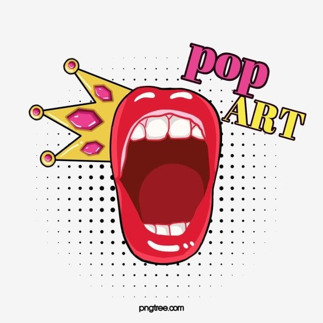 Cartoon Open Mouth Pop Style Lips Lips Clipart Cartoon Open Mouth Png Transparent Clipart Image And Psd File For Free Download Geometric Pattern Background Free Graphic Design Vector Pop