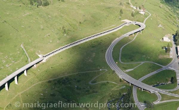 Dem Gotthard-Tunnel-Stau ausgewichen