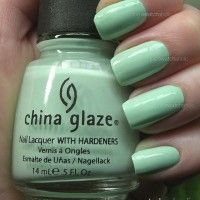 """China Glaze Up & Away Collection """"Re-Fresh Mint"""""""