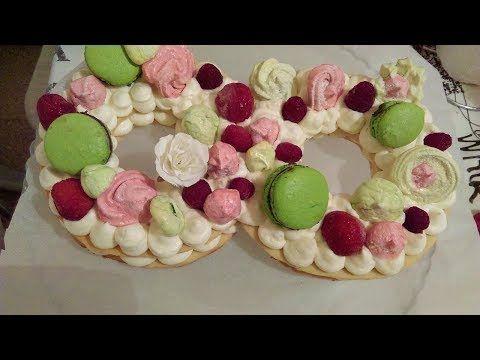 حلوى الارقام نامبر كيكnumber Cake موضة حلويات اعياد