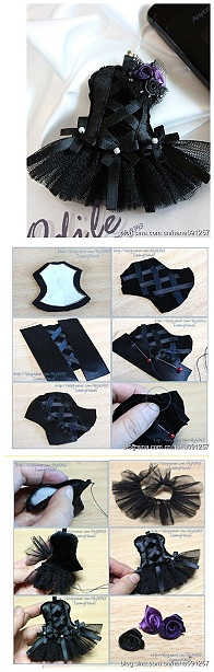 Mini Corset Decoration