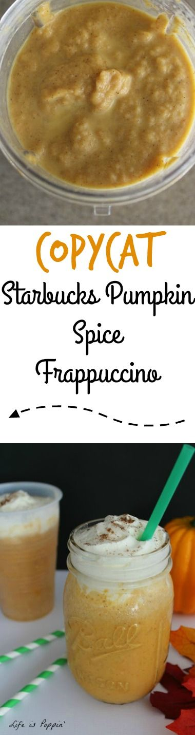 Pumpkin Spice Frappuccinos are all the rage this season, but the price doesn't exactly work for me. That's why I came up with this delicious Copycat Starbucks Pumpkin Spice Frappuccino recipe. I am not a coffee drinker, but I do have a weakness for Starbucks.