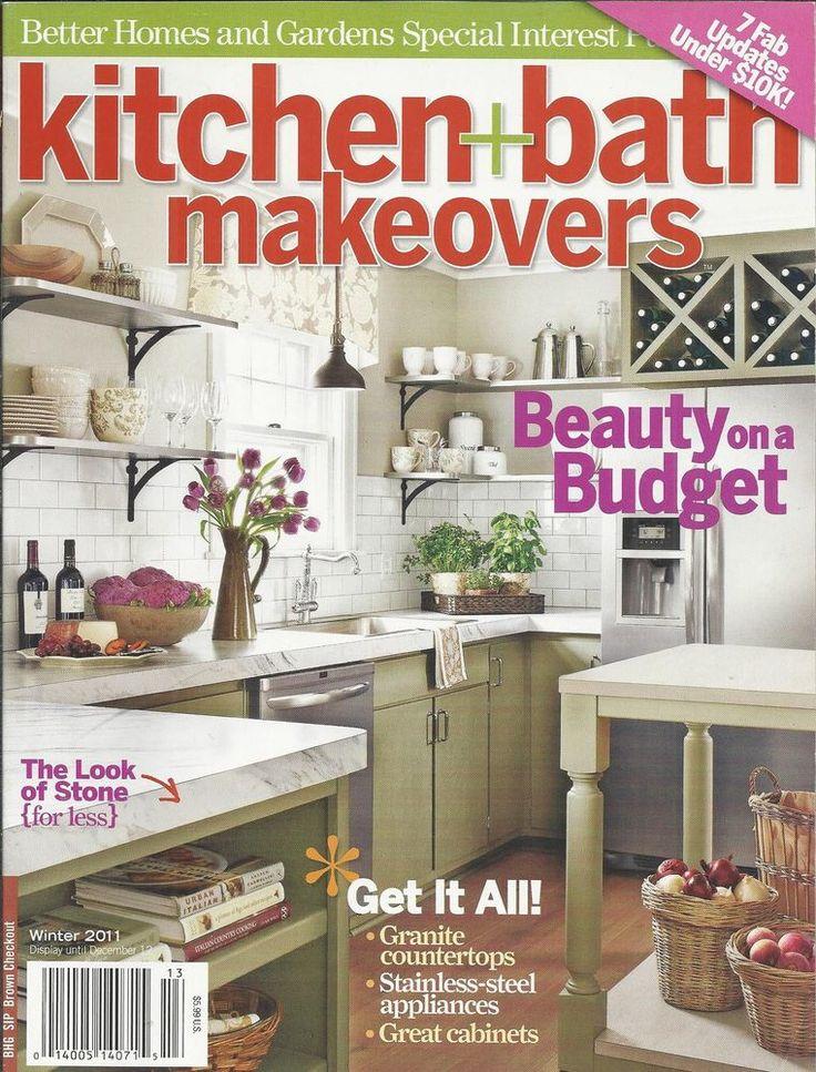 Kitchen And Bath Makeovers Magazine Stone Granite Countertops Appliances .