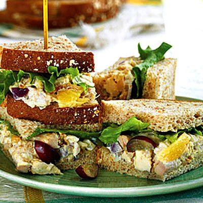Curried Chicken Salad Sandwiches - 8 Perfect Picnic Recipes - Health.com