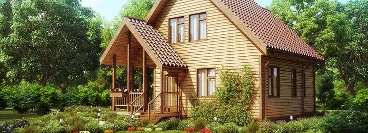 Дома из бруса – ваше новое уютное жилье