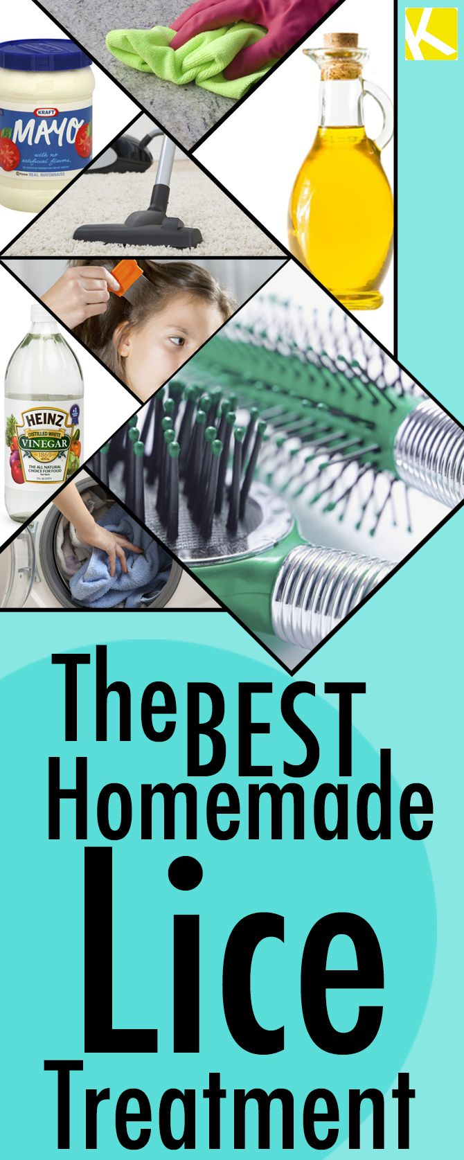 The Best Homemade Lice Treatment
