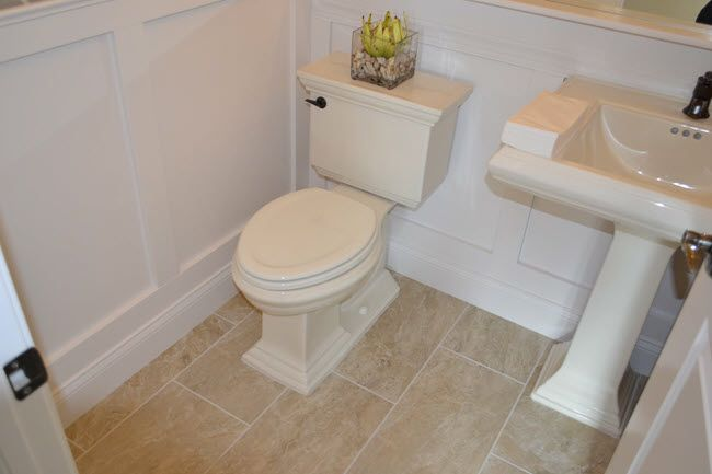 How Long Does It Take To Tile A Small Bathroom Floor In 2020 Bathroom Flooring Small Bathroom Floor Tile Design