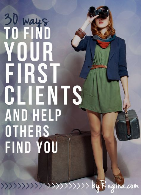 Whether you're an introvert, extrovert, or ambivert, these methods will help you reach out directly to find your first clients and help others find you...j