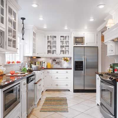 updated traditional kitchen...