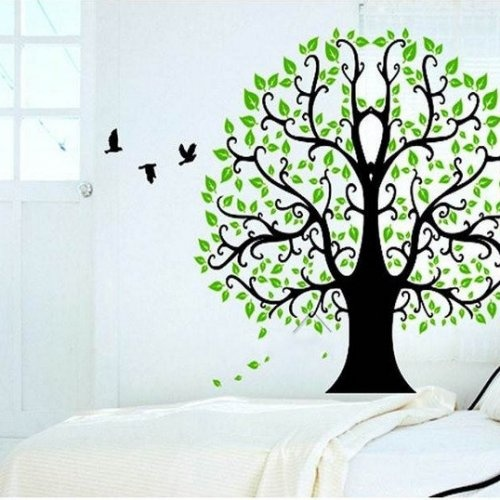 Tree Of Life Art Graphic Vinyl Wall Decals Stickers Home Decor